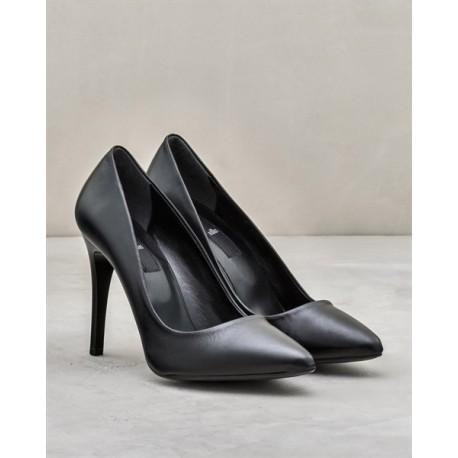 کفش چرم اصل پاشنه بلند MELISAA