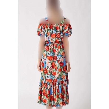 لباس یقه باز زنانه