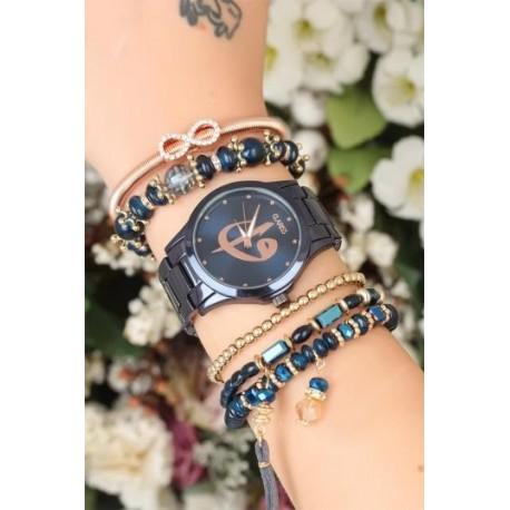 ست ساعت و دستبند اورجینال زنانه