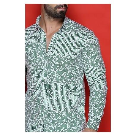 پیراهن مردانه گل دار