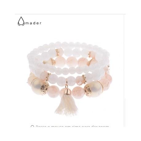دستبند سنگی زنانه