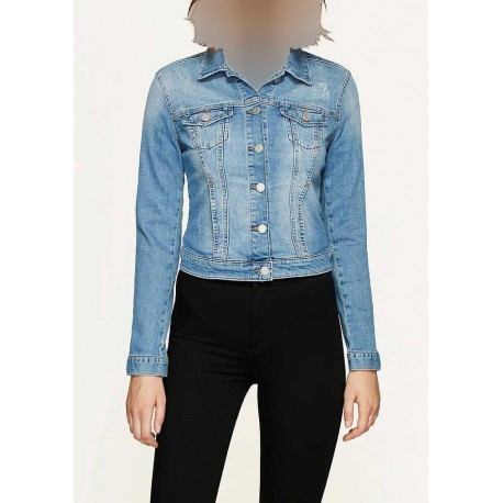 کت جین جیب دار زنانه