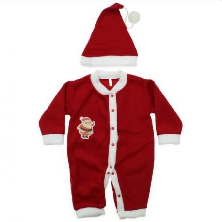 لباس سرهمی بابانوءل پسرانه