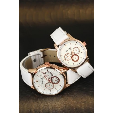 ست ساعت سفید زنانه مردانه