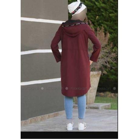 بارانی کلاه دار زنانه