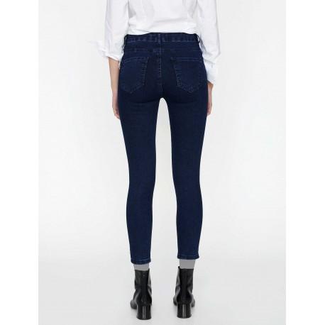 شلوار جین سرمه ای زنانه