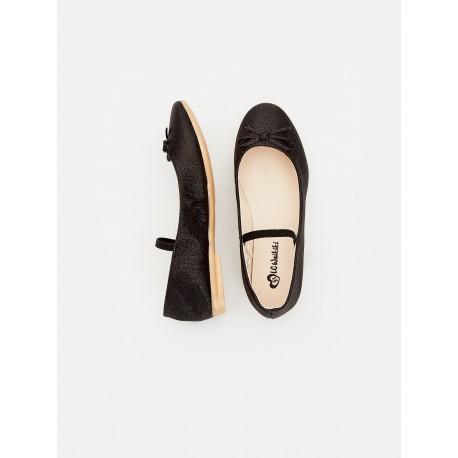 کفش عروسکی مشکی دخترانه