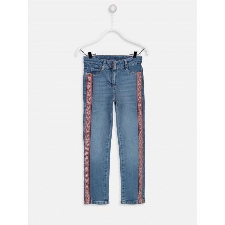 شلوار جین کنار خط دار