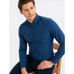 پیراهن مردانه سرمه ای