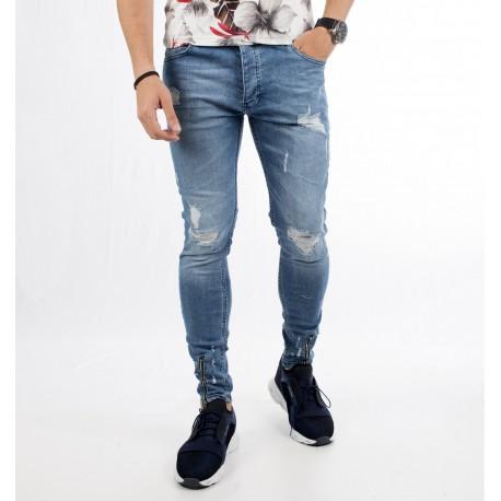 شلوار جین زیپ دار