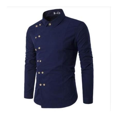 پیراهن مردانه جلو دکمه دار