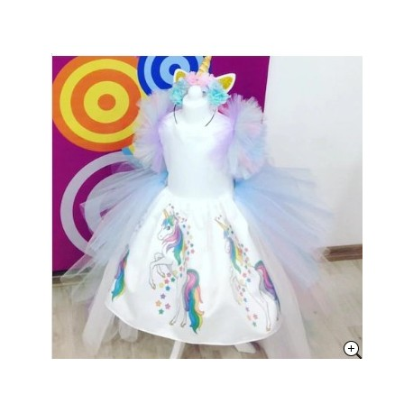 لباس دخترانه اسب شاخدار