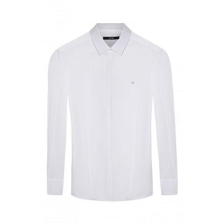 پیراهن سفید مردانه