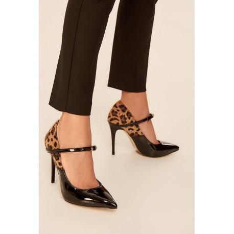 کفش پلنگی زنانه