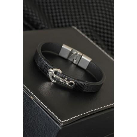 دستبند مشکی مردانه