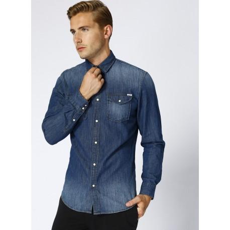 پیراهن جین آبی