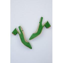 کفش سبز زنانه جدید