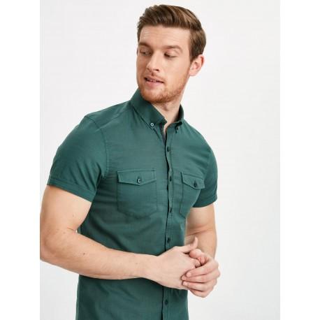 پیراهن مردانه سبز شیک