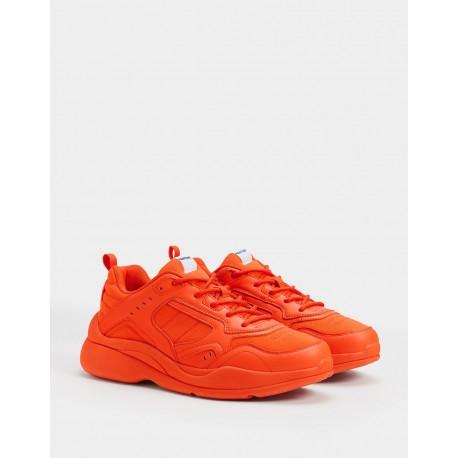 اسنیکر نارنجی مردانه