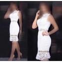 لباس مجلسی سفید زنانه