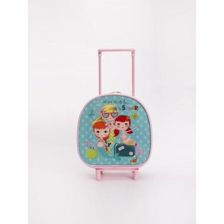 کیف چمدانی دخترانه