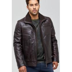 کت چرم خاص مردانه