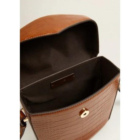 کیف چرم قهوه ای