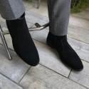 کفش مخمل مردانه