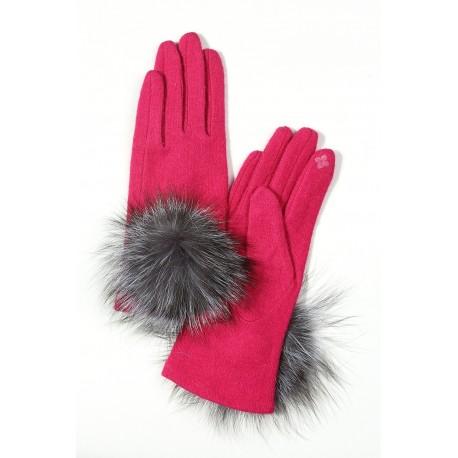 دستکش خزدار زنانه