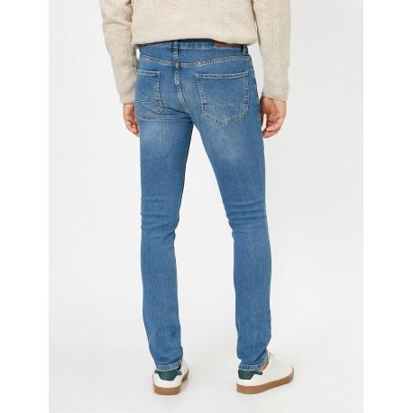شلوار جین آبی