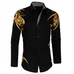 پیراهن طرحدار شیک مردانه