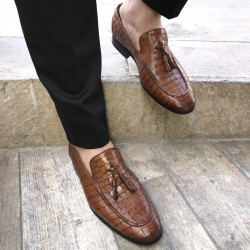 کفش چرم شیک