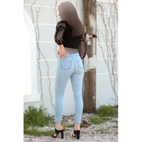 شلوار جین ساده