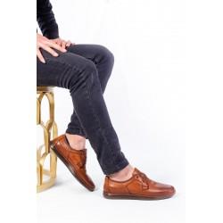 کفش چرم جدید