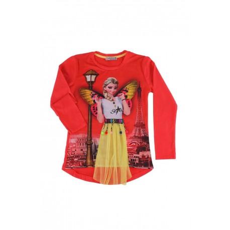 پیراهن طرحدار دخترانه