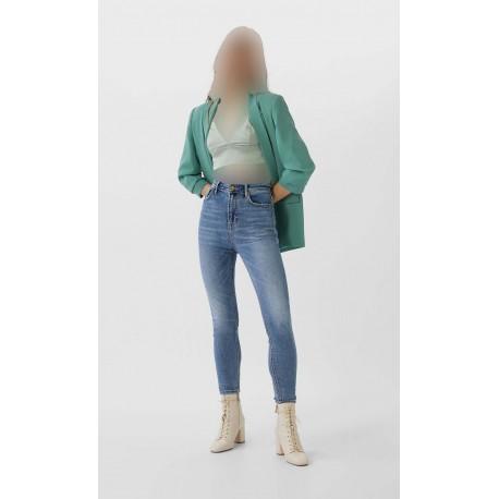 شلوار جین کوتاه