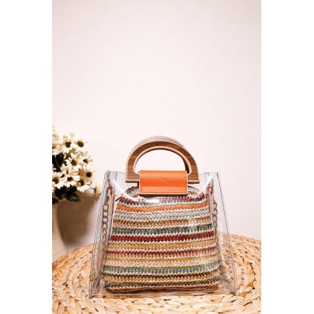 کیف حصیری زنانه