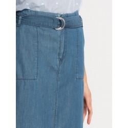 دامن جین بلند زنانه
