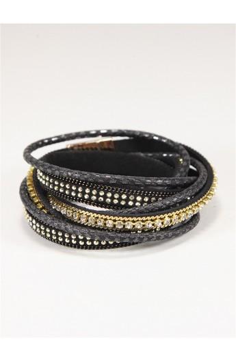 دستبند چرم زنانه