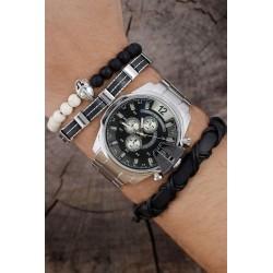 ست دستبندوساعت مچی مردانه