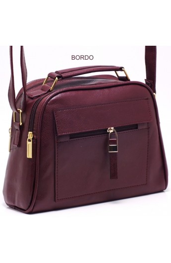 کیف دوشی زیپ دار زنانه