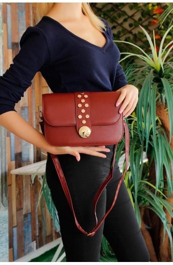 کیف سگک دار و دوشی زنانه