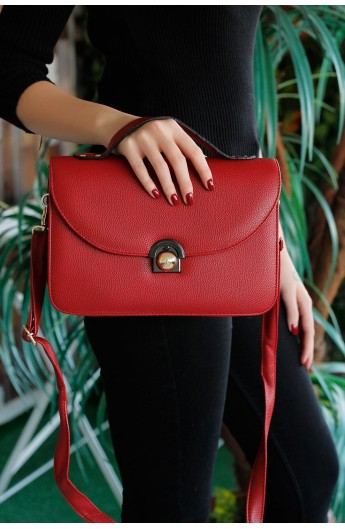 کیف سگک دار و دستی و دوشی زنانه