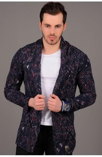 ژاکت طرح دار مردانه
