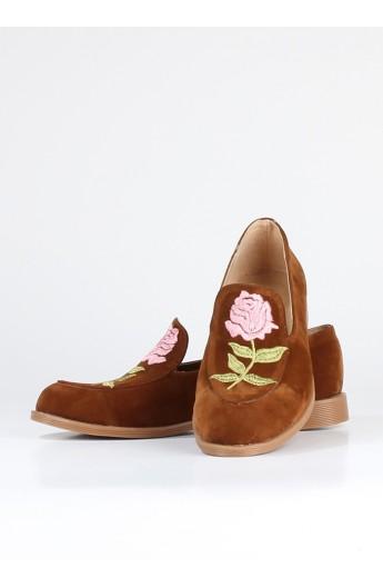 کفش طرح گل زنانه