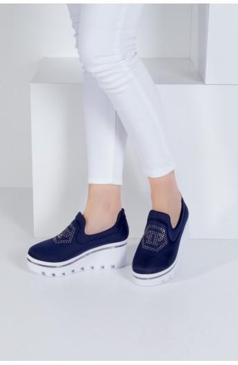 کفش لژدار طرح دار زنانه