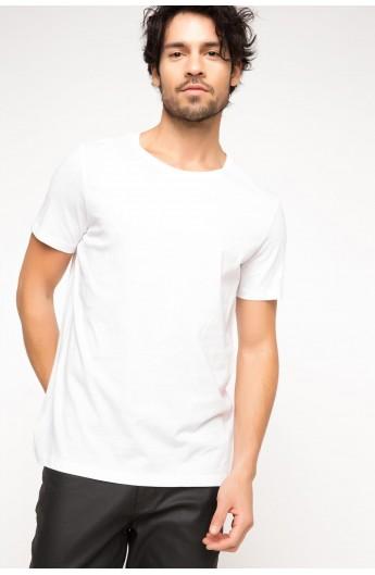 استایل تی شرت مردانه سفید
