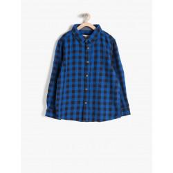 پیراهن چهارخانه پسرانه