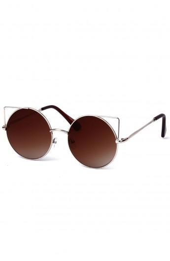 عینک دودی مدلدار زنانه