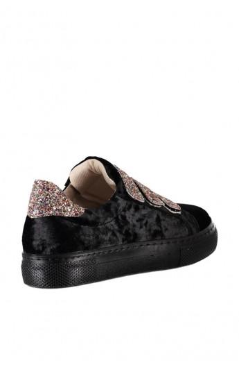 کفش چسبی جیر زنانه